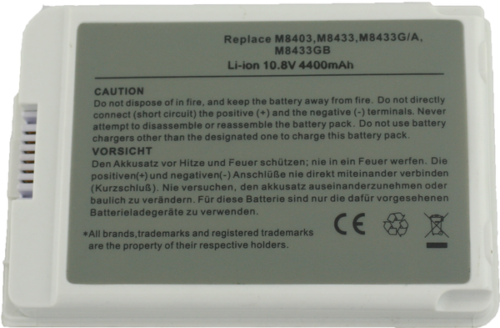 Replacement Apple M8956J/A Battery
