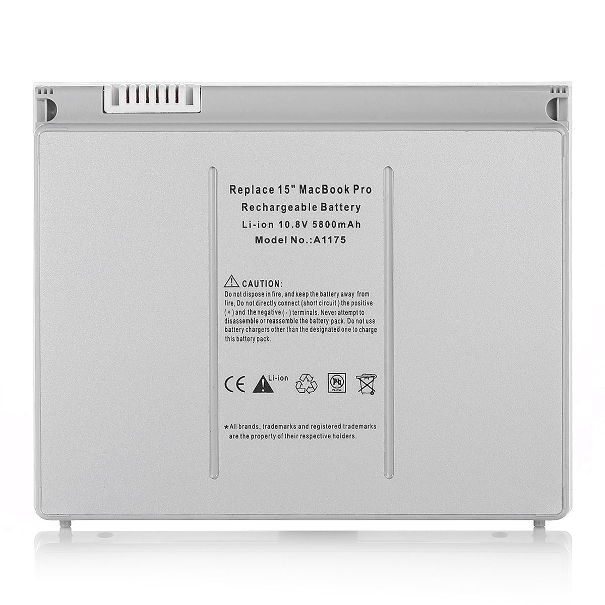 Replacement Apple MacBook Pro 15 inch MA600LL Battery
