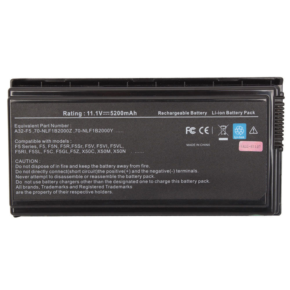 Replacement Asus F5Z Battery