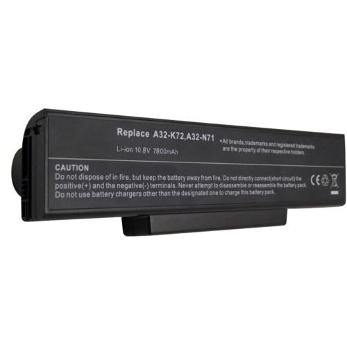 Replacement Asus K72JO Battery