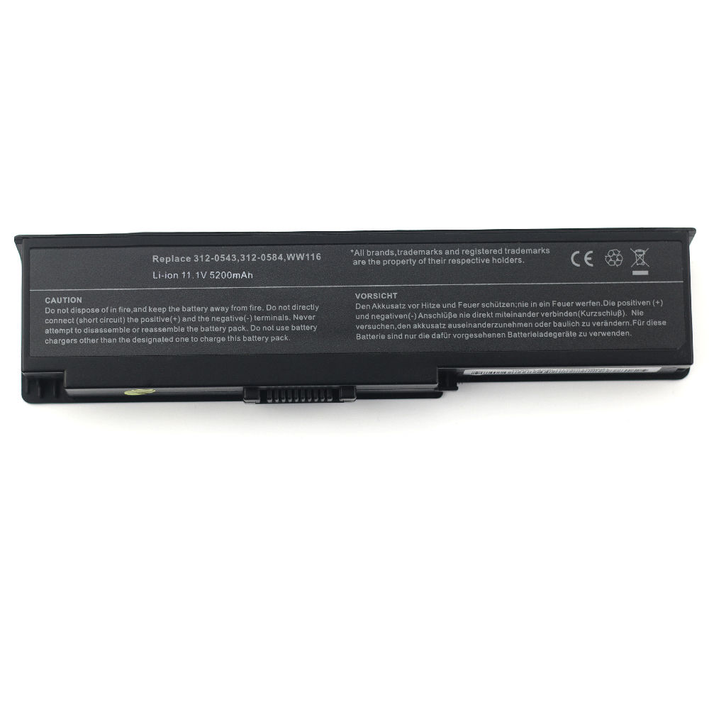 Replacement Dell WW116 Battery