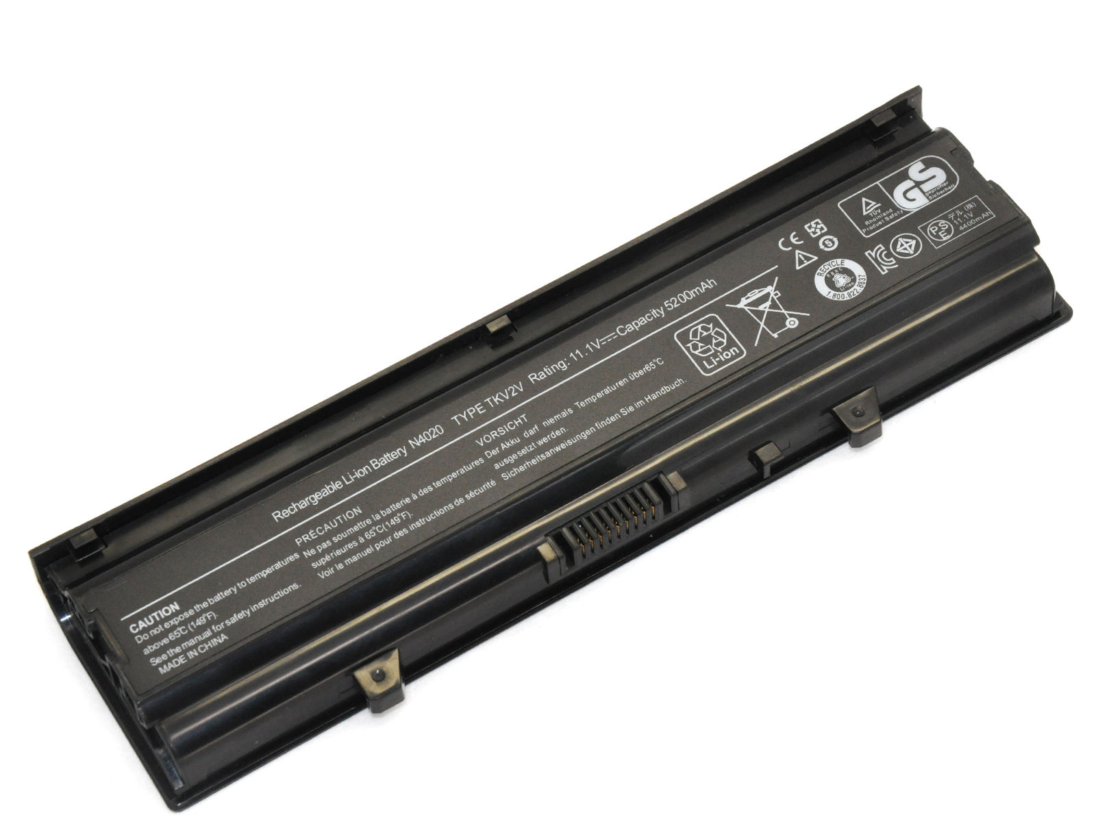 Replacement Dell 312-1231 Battery
