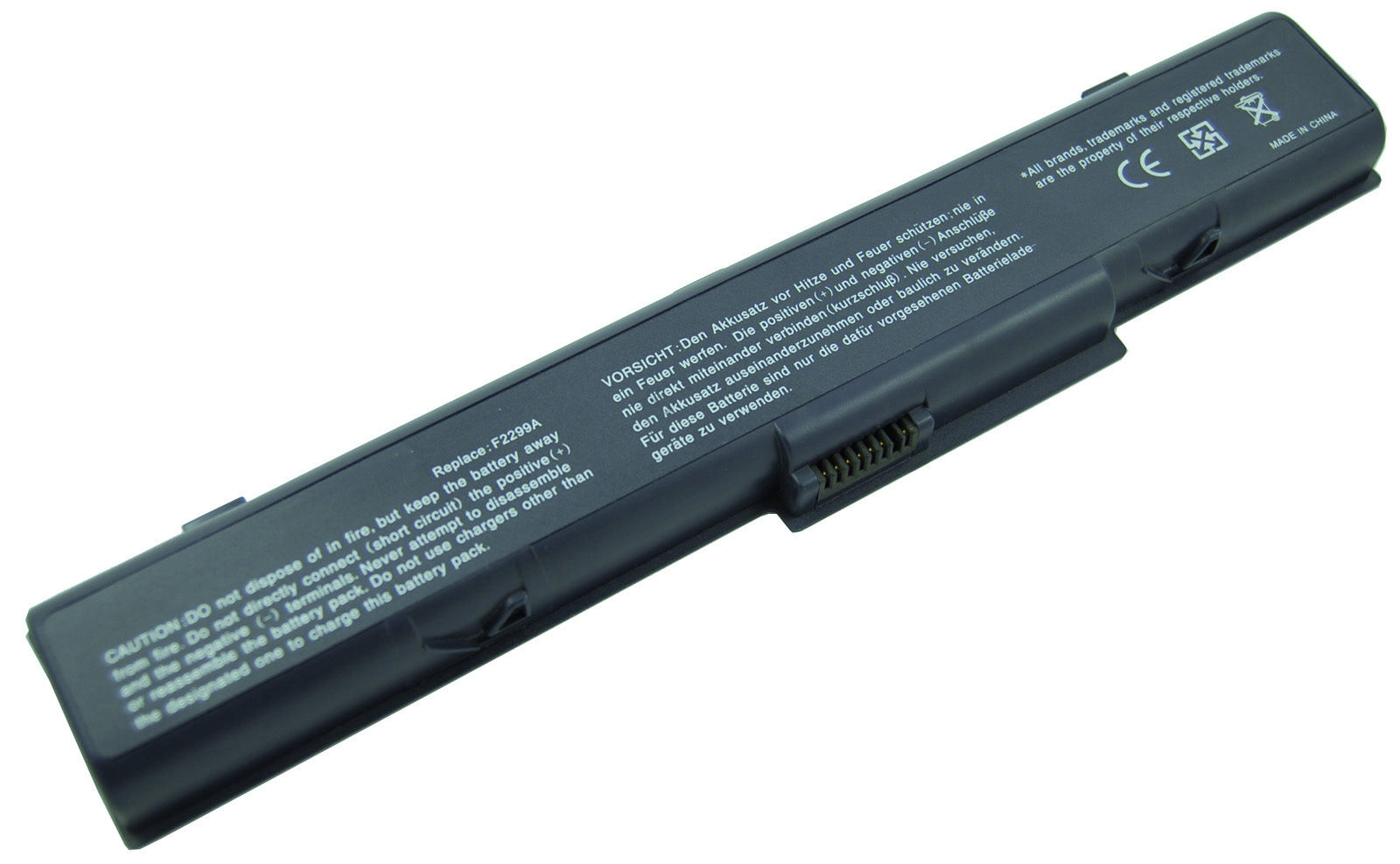Replacement Hp OmniBook XT1500-F3445HT Battery
