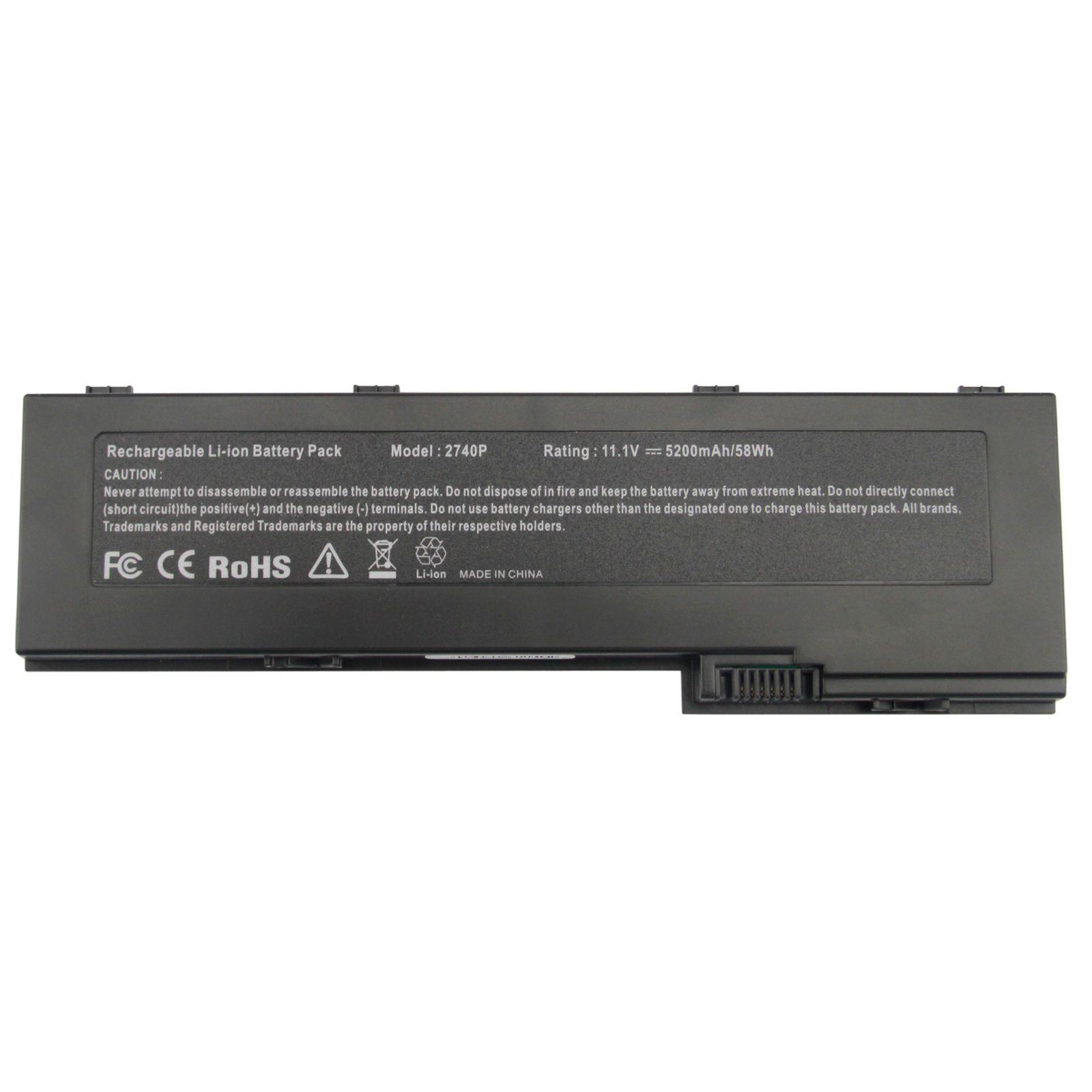 Replacement Hp EliteBook 2760p Tablet PC Battery