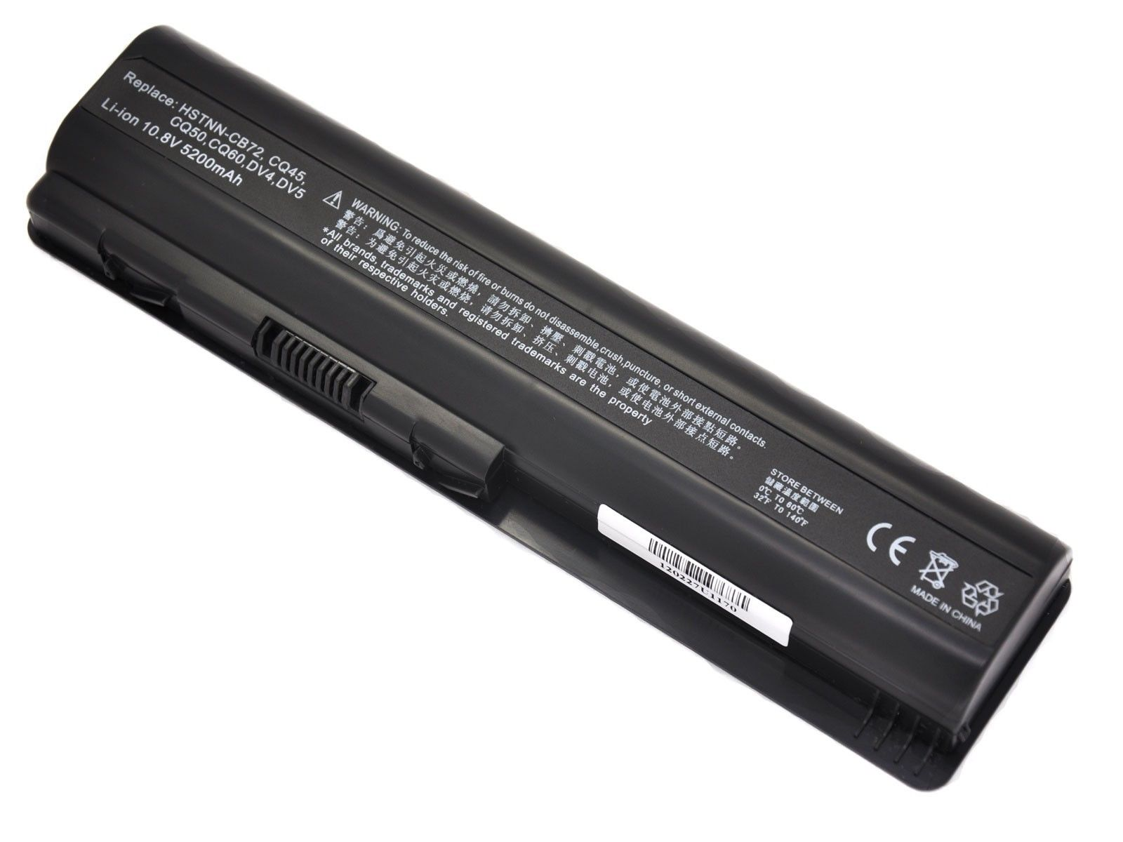 Replacement Hp 497695-001 Battery