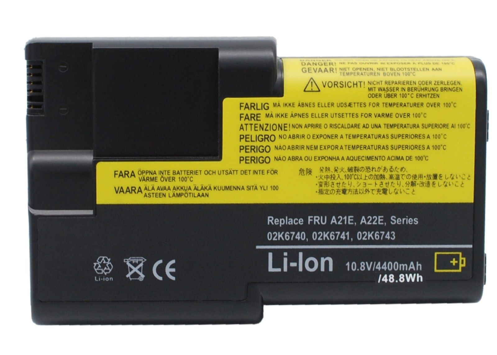 Replacement Ibm 92P0989 Battery