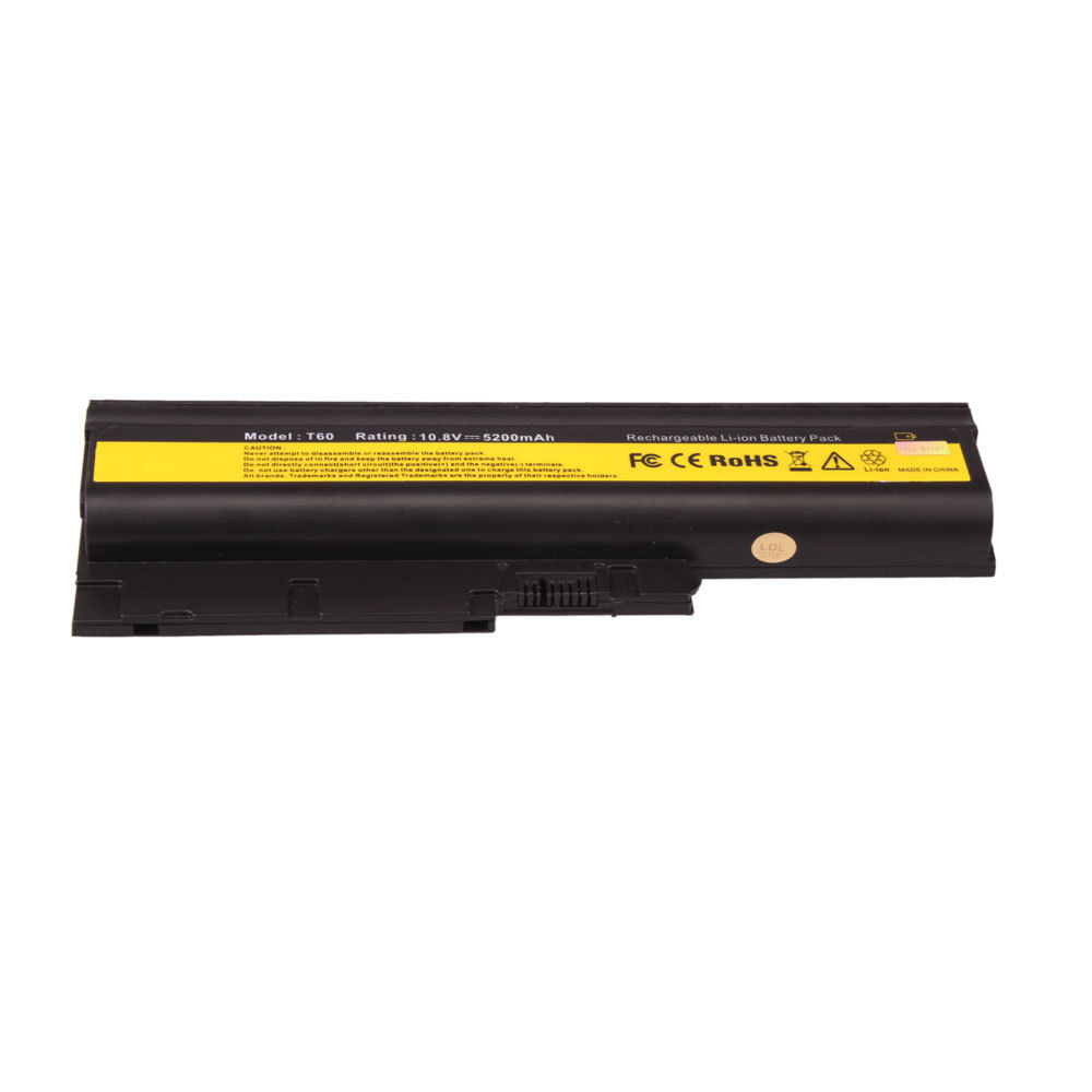 Replacement Ibm ThinkPad T60p 6458 Battery