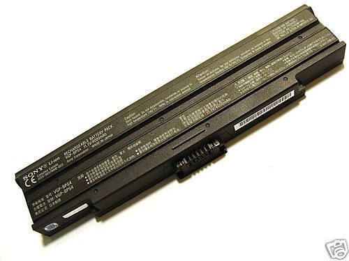 Replacement Sony VAIO VGN-BX560B Battery