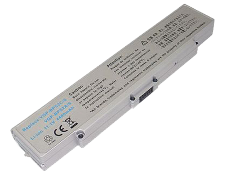 Replacement Sony VAIO VGN-C21GHW Battery