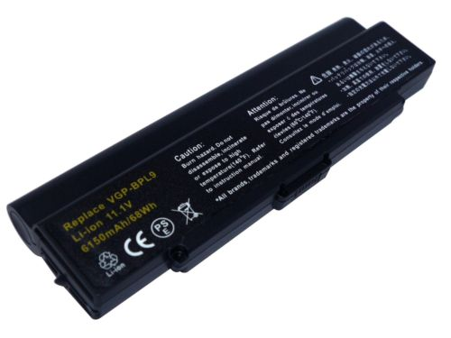 Replacement Sony VAIO VGN-CR490EBR Battery
