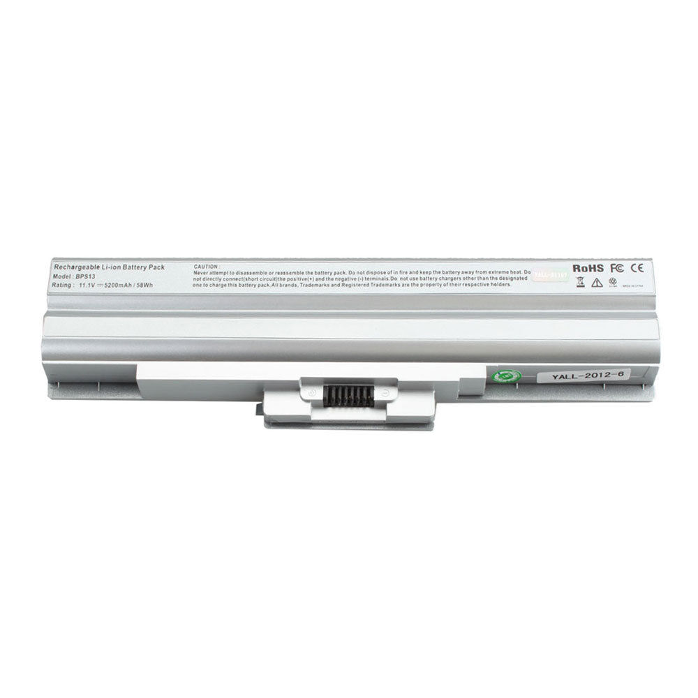 Replacement Sony VAIO VGN-FW72JGB Battery