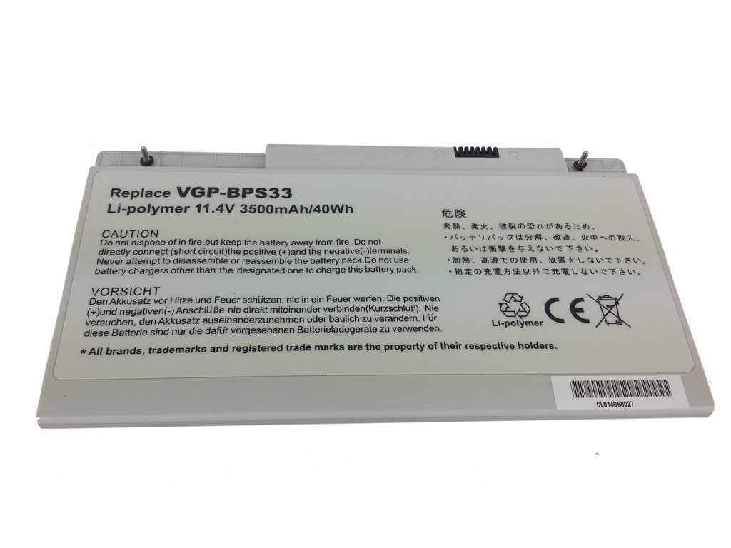 Replacement Sony VAIO SVT14116PN Battery