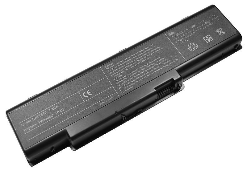 Replacement Toshiba Satellite A65-S1065 Battery