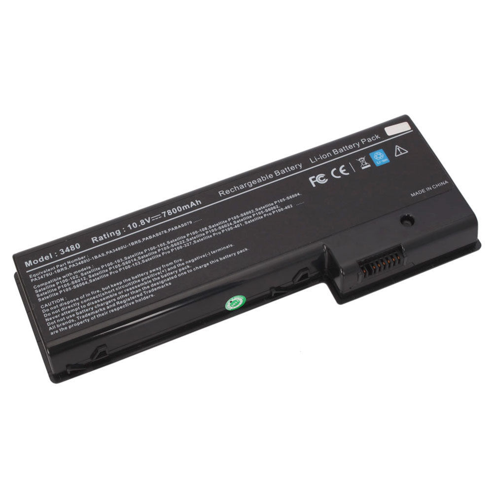 Replacement Toshiba PA3480U-1BAS Battery