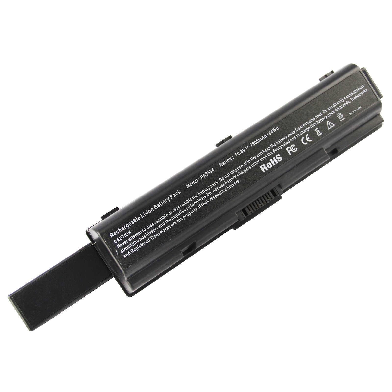Replacement Toshiba Satellite A205-S4707 Battery