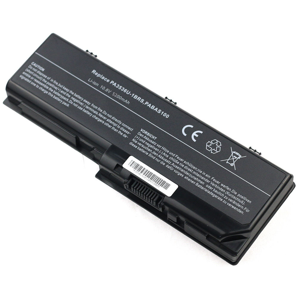 Replacement Toshiba PABAS100 Battery